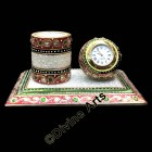 Marble Pen stand and Watch