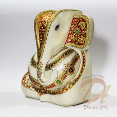 Marble Decorative Ganesha Idol